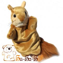 Белочка бибабо (кукла-перчатка)