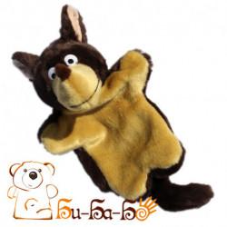 Волк бурый бибабо (кукла-перчатка)
