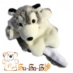 Волк серый бибабо (кукла-перчатка)