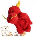 Дракончик бибабо (кукла-перчатка)