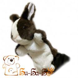 Зайчик русый бибабо (кукла-перчатка)