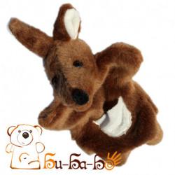 Кенгуру бибабо (кукла-перчатка)