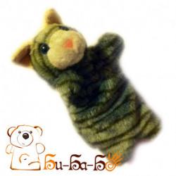 Котик бибабо (кукла-перчатка)