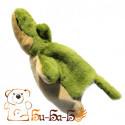 Крокодильчик бибабо (кукла-перчатка)