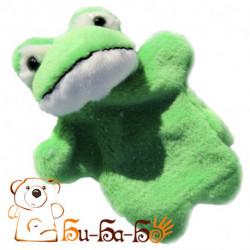 Лягушонок бибабо (кукла-перчатка)