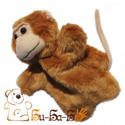 Мартышка бибабо (кукла-перчатка)