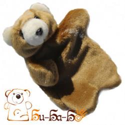 Мишка бурый бибабо (кукла-перчатка)
