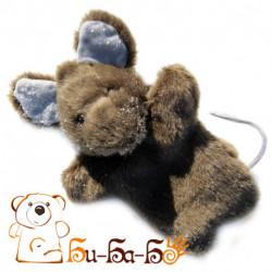 Мышка бибабо (кукла-перчатка)