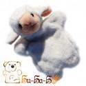 Овечка бибабо (кукла-перчатка)
