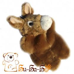 Ослик бибабо (кукла-перчатка)