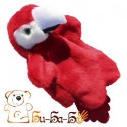 Попугайчик бибабо (кукла-перчатка)