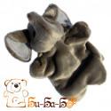 Слоник бибабо (кукла-перчатка)