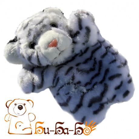 Тигренок белый бибабо (кукла-перчатка)