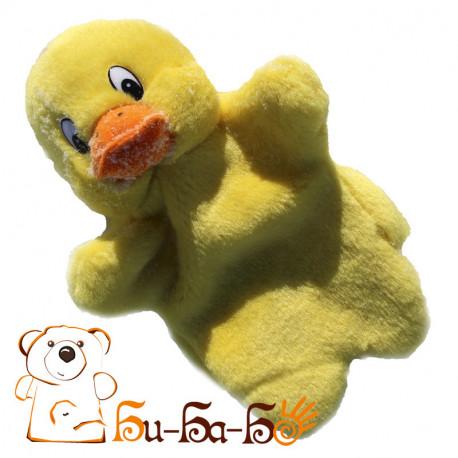 Утёнок бибабо (кукла-перчатка)