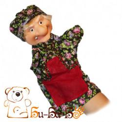 Баба-Яга бибабо (кукла-перчатка)