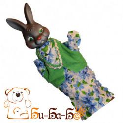 Заяц бибабо (кукла-перчатка)