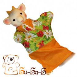 Козленок бибабо (кукла-перчатка)