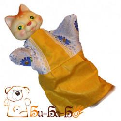 Кошка бибабо (кукла-перчатка)