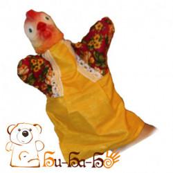 Курочка Ряба бибабо (кукла-перчатка)