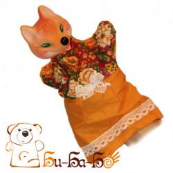 Лиса бибабо (кукла-перчатка)