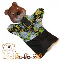 Медведь бибабо (кукла-перчатка)