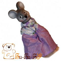 Мышь бибабо (кукла-перчатка)