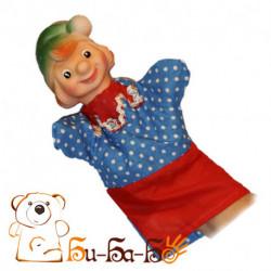 Петрушка бибабо (кукла-перчатка)