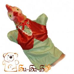 Петух бибабо (кукла-перчатка)