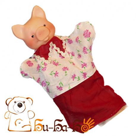 Поросенок бибабо (кукла-перчатка)