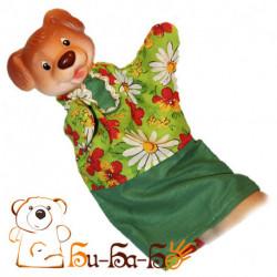 Собака бибабо (кукла-перчатка)
